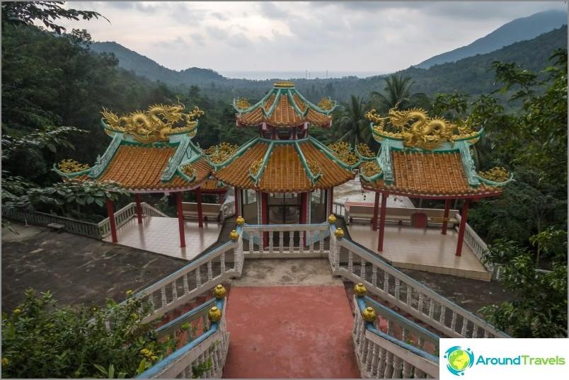 Kiinalainen temppeli phanganilla