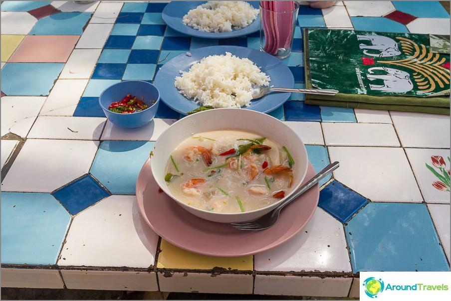 Tom Kha Thai Cafessa