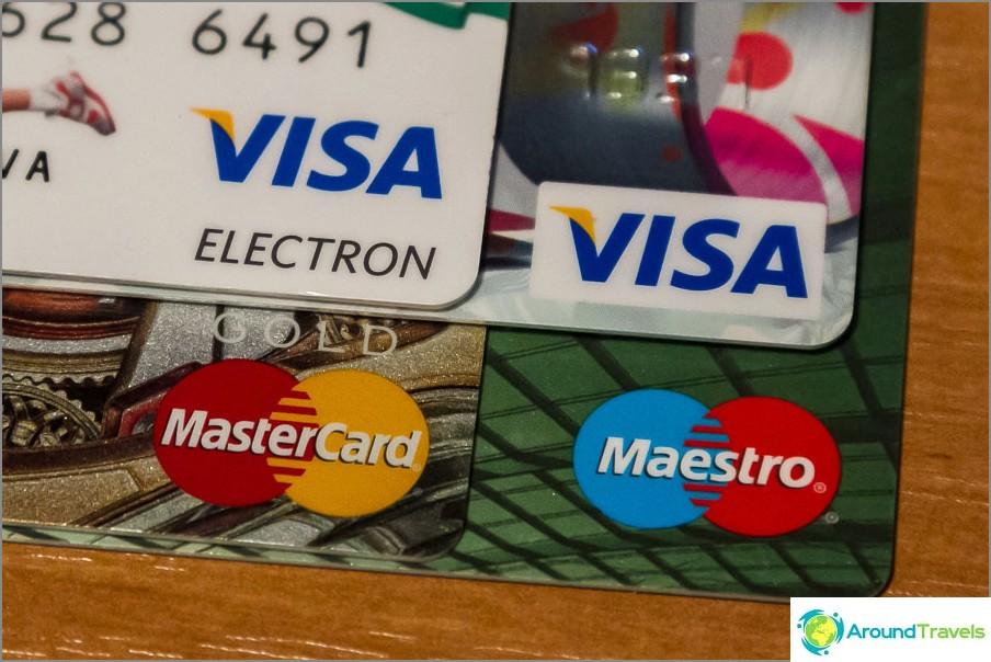 Mitä pankkikorttia saadaan