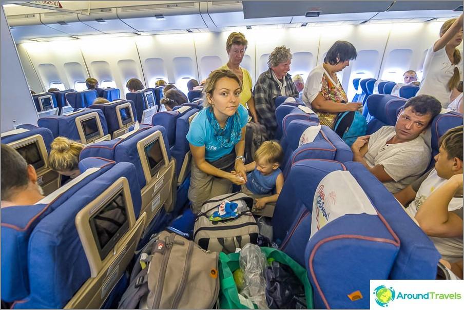 Suorat lennot Moskova-Phuket lentokentältä Transaero