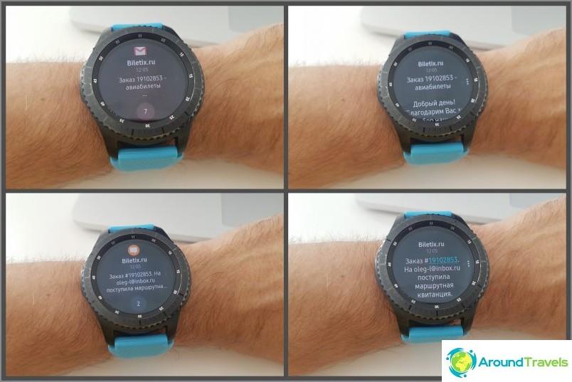 Tarkista postin ja tekstiviestien kellot