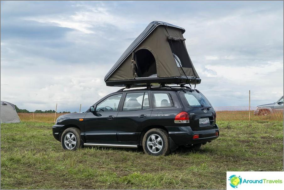 Mielenkiintoinen telttasuunnittelu