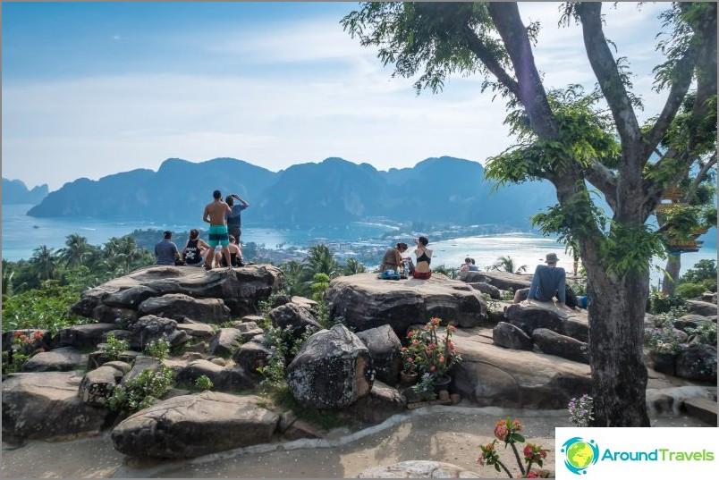 Наблюдателна площадка на Phi Phi номер 2